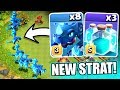 A NEW 3 STAR STRATEGY Clash Of Clans TOWN HALL 12 3 STAR STRATEGY