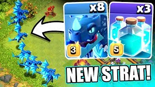 A NEW 3 STAR STRATEGY!? - Clash Of Clans - TOWN HALL 12 3 STAR STRATEGY! - dooclip.me