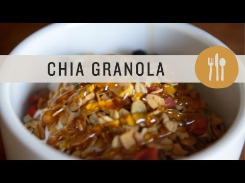 Video Chia Granola - Superfoods