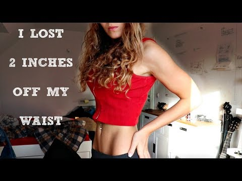 how i lost 2 inches off my waist + tricks to make your waist look smaller