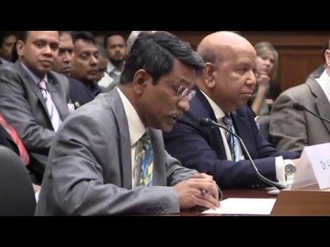 US Congressional Hearing On Bangladesh - Zahid F Sarder Saddi