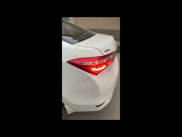 Toyota Corolla GLi 1.3 VVTi 2017 for Sale in Multan