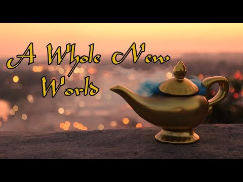 Aladdin – A Whole New World – Acoustic Guitar Cover by Nash