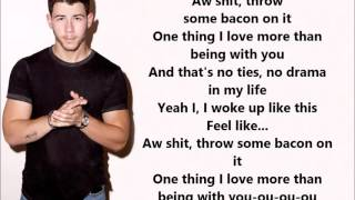 Bacon Lyrics - Nick Jonas