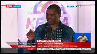 Weekend at One: President Uhuru Kenyatta among government officials in Kwale for a Leadership Summit