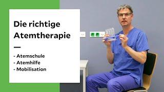 Die richtige Atemtherapie - so funktioniert es
