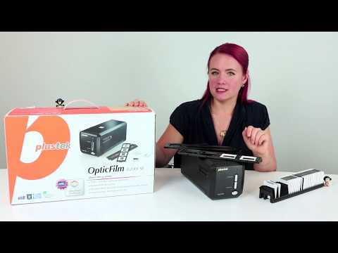 Plustek OpticFilm 8200i Diascanner Test