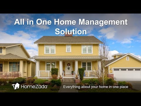 All in One Home Management Solution - HomeZada