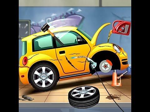 car wash and repair games