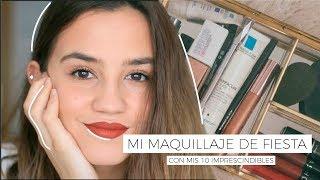 AD. Mi MAQUILLAJE De FIESTA Con Mis 10 IMPRESCINDIBLES | Teresa Macetas