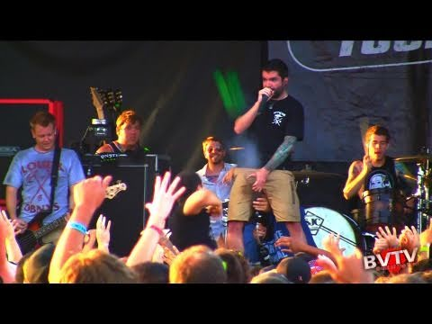 "A Day To Remember - ""All I Want"" Live In HD! At Warped Tour 2011 - BVTV Music"