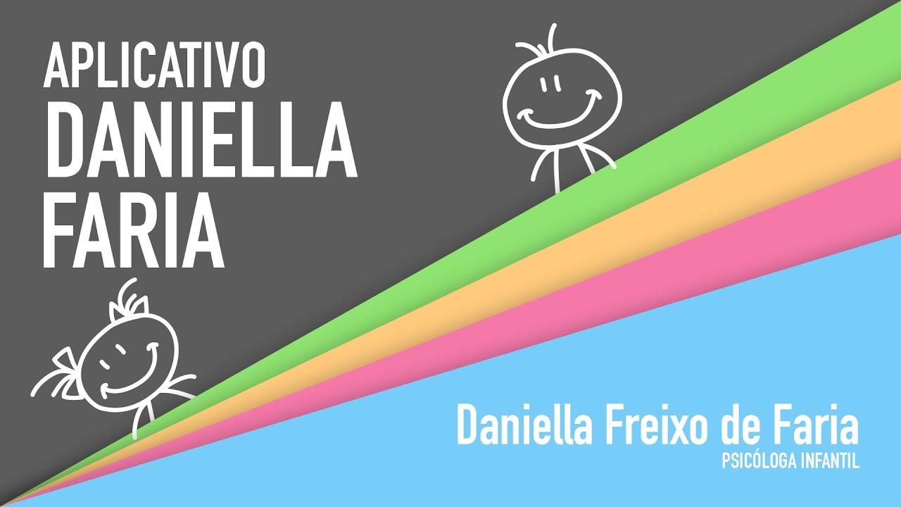 Aplicativo para celular e tablets | Daniella Faria