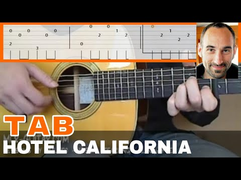 "Guitar guitar tablature hotel california : Courses / Study ""Hotel California"""