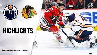 Oilers @ Blackhawks 10/14/19 Highlights