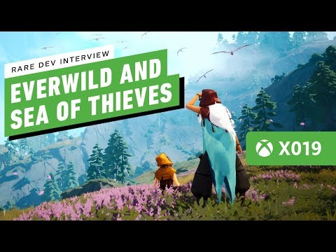 Rare Eyes the Future with Everwild and Sea of Thieves - IGN Live X019