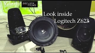 Ansehen Logitech Z623 THX Lautsprecher (Video von Declick Films)