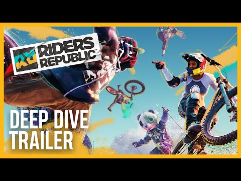 E3 2021: Here's 5 Minutes Of Riders Republic Gameplay, Ubisoft's Sports MMO Which Releases On September 2nd