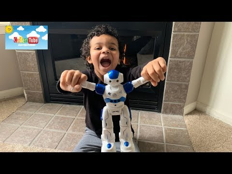 Kids fun! | unboxing | Toy review | Amazon Remote Control RC Programmable Robot for Kids. MUST SEE!