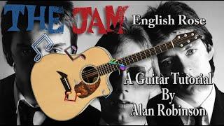 English Rose - The Jam - Acoustic Guitar Tutorial (2021)