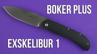 Boker Plus Exskelibur 1 (01BO001) - відео 2