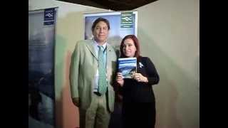 preview picture of video 'Cristina Fernandez de Kirchner, en el Stand de Turismo de la Nación, Republica de ANGOLA.'