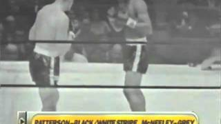 Floyd Patterson vs Tom McNeeley