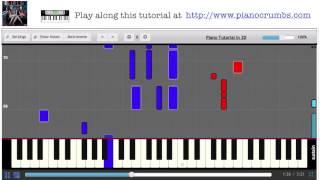 Fun. - Sight of The Sun (Girls Soundtrack) - Piano Tutorial