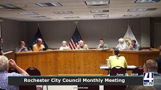 Rochester City Council - June 2018