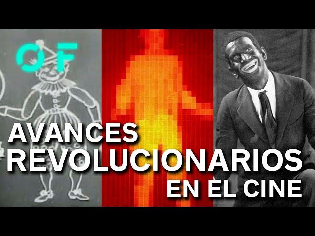 18 AVANCES TECNOLÓGICOS QUE CAMBIARON EL CINE