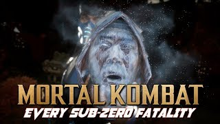 Mortal Kombat: Every Jax Fatality (MK2 to MK11) (1080P/60FPS