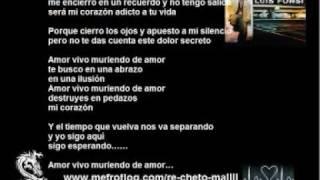 Luis Fonsi - Vivo muriendo de amor