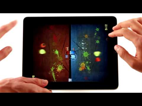 Fruit Ninja For iPad With 8-Finger, Head-To-Head Fruit Slicing