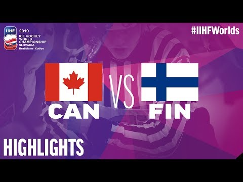 Canada vs. Finland - Gold Medal Game - Game Highlights - #IIHFWorlds 2019
