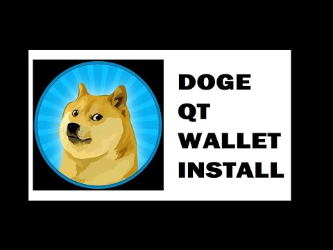 DogeCoin QT Core Wallet Install plus Tips for Upcoming DogeThereum Fork