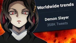 Muzan Kibutsuji  - (Demon Slayer: Kimetsu no Yaiba) - Analyzing Muzan & The Series Trends World Wide Again   Kimetsu no Yaiba Episode 26