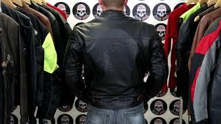 Blackguard Hand Buffed Leather Motorcycle Jacket