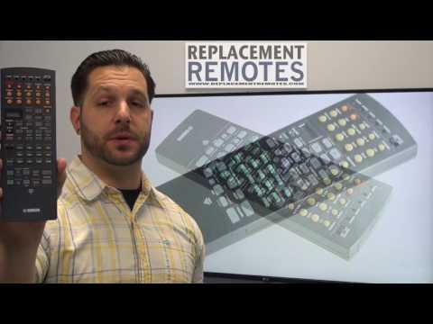 YAMAHA RAV229 Audio/Video Receiver Remote Control