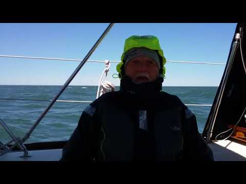 We asked a realtor who has used us at least 10 times over the last decade to send us a little video about how she loves our company.  To our suprise, this is what she sent back....Her husband on his sail boat in the Atlantic Ocean.