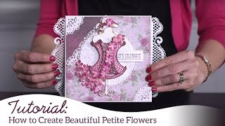 How to Create Petite Florals the EZ Way