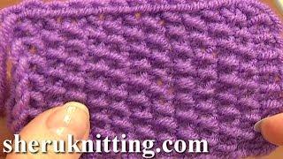 Knitting Stitch Pattern For Beginners Tutorial 2 Knitting Stitches
