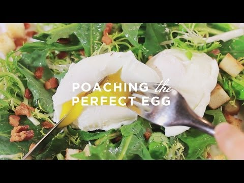Learn to Cook: Poaching the Perfect Egg