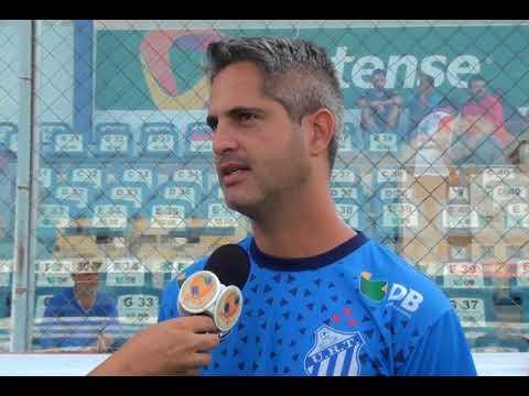 Rodrigo Santana diz que URT foi prejudicada por erros da arbitragem