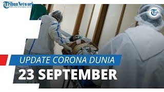Update Corona Dunia 23 September 2021: Total 230,8 Juta Terinfeksi, Indonesia nomor 37 Kasus Aktif
