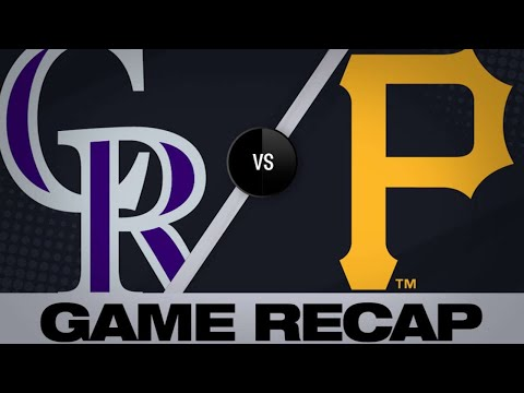 5/22/19: Wolters, Murphy lead Rockies past Pirates