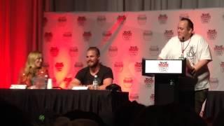 """Сериал """"Стрела"""", Arrow Denver Comic Con Panel...."""
