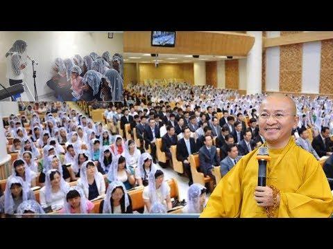 TT.Thích Nhật Từ trả lời vấn đáp về Hội thánh đức chúa trời, giải thích về chùa Tân Diệu - Long An