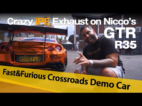 Crazy New iPE Exhaust on Nicco's Nissan GTR