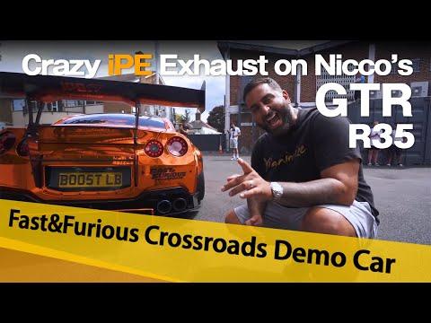 Crazy New iPE Exhaust on Nicco's Nissan GTR