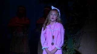 """Veronica McFarlane as """"Wendy"""" in Peter Pan """"Distant Melody"""""""
