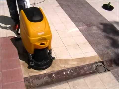 Powerwash XD2A elektrikli zemin temizlik makinası